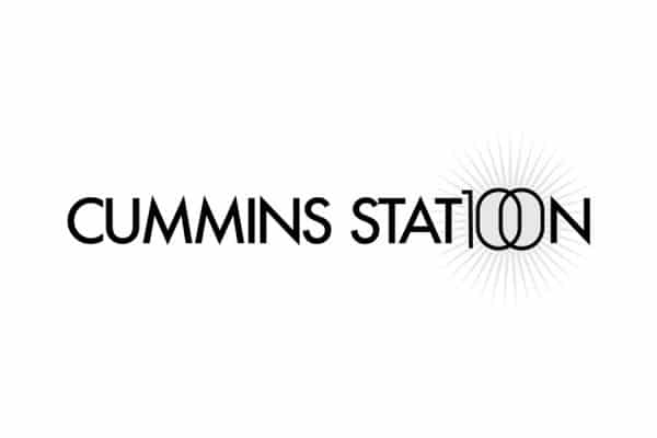 Cummins Station Logo 100 year anniversary brand enhancement