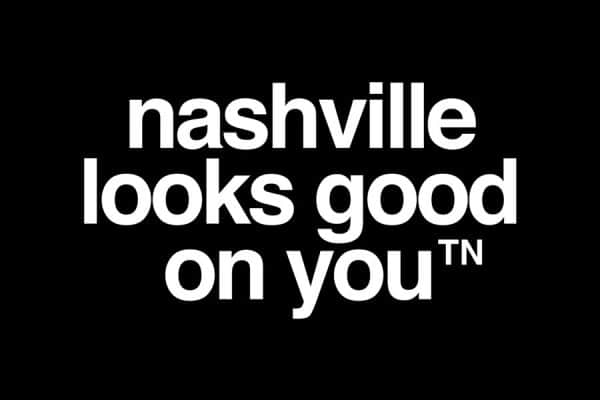 nashville looks good on you logo